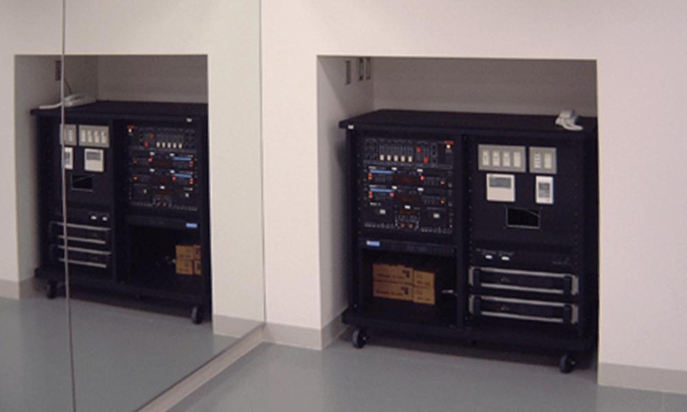 スタジオ設置例3+LEDメーター