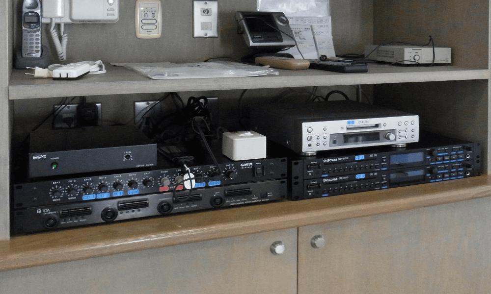 バレエスタジオ簡易音響システム