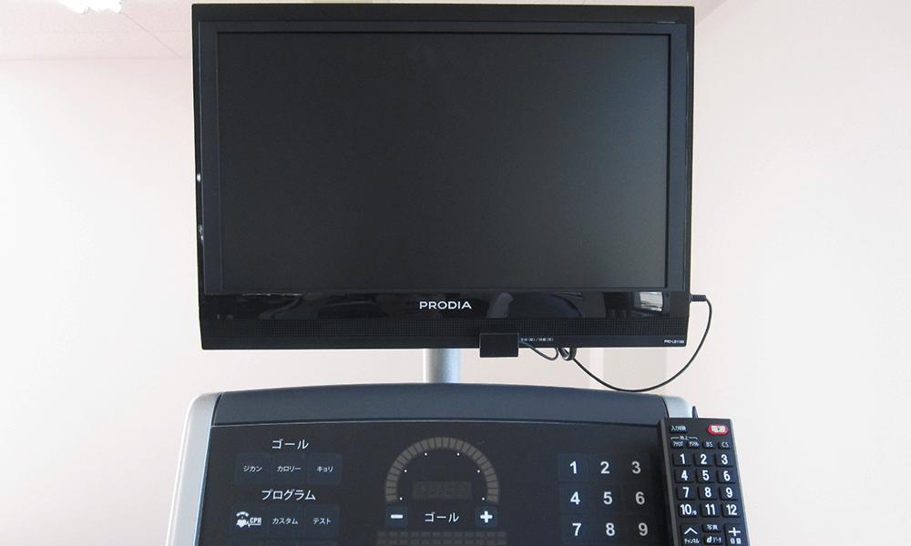 TVモニター+ワイヤードリモコン