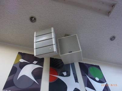 天井スピーカー