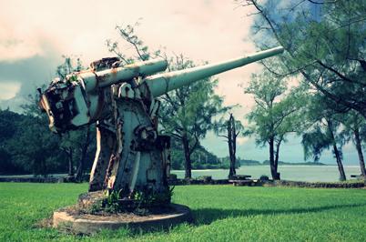 日本軍大砲